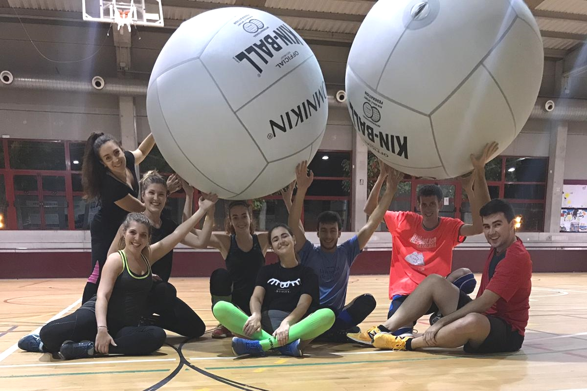 Trainings of Kinball (pass for everybody)