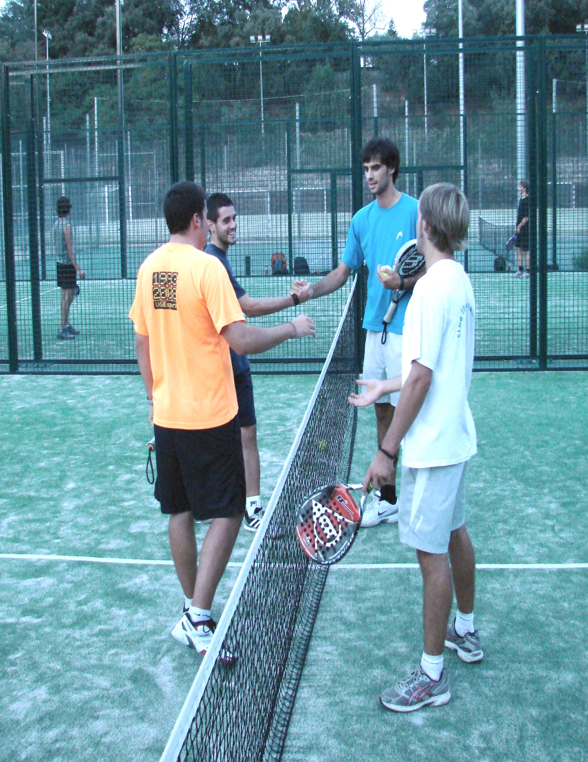 Introduction to paddle tennis (Mon-Thurs, 9 am to 4 pm) (1+1 ECTS)